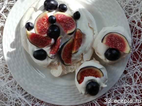 Десерт «Анна Павлова» (пирожное, торт)