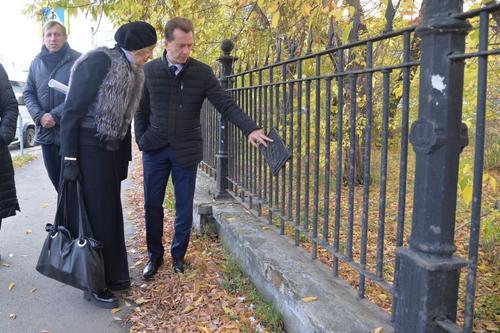 В Тракторозаводском районе идет реконструкция парка Терешковой