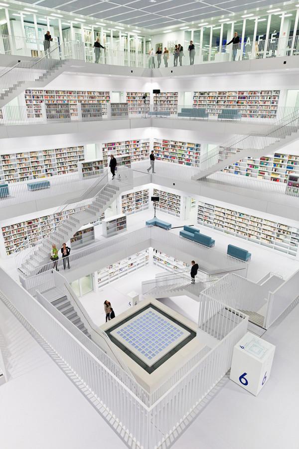 Красивейшие библиотеки мира