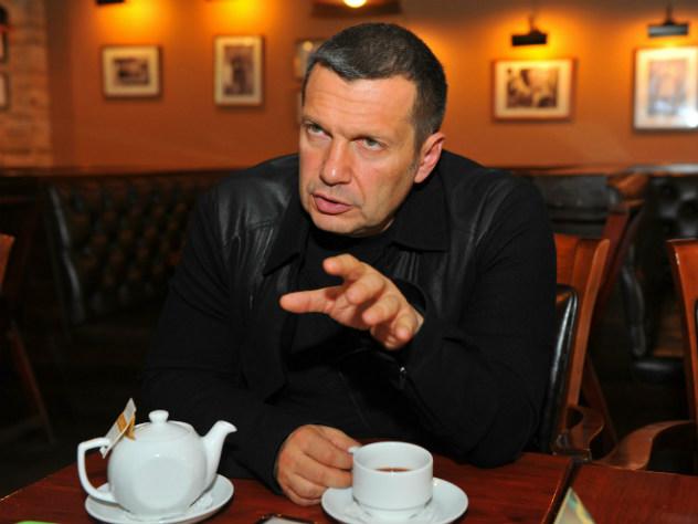 Телеведущий Соловьев удивился российскому ответу Британии