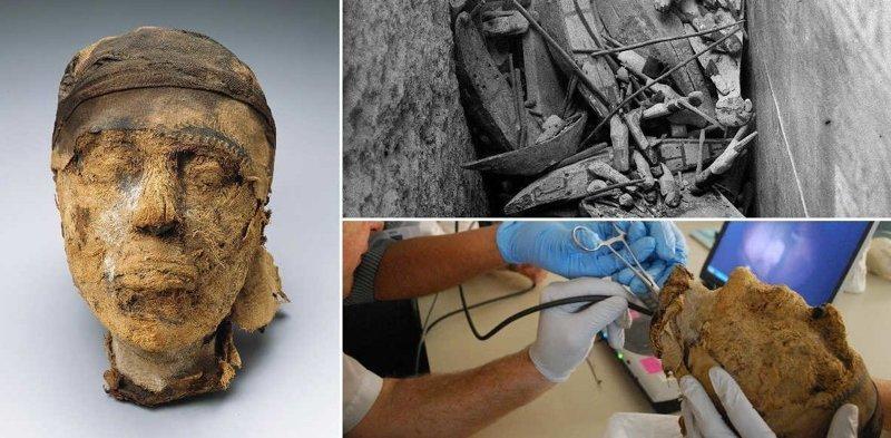 Как ФБР разгадало тайну 4-тысячелетней головы мумии в мире, люди, мумия, найка, находка, фбр