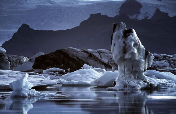 Таяния льдов в Исландии