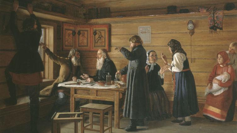 Жуков Д. Е., «Спор о вере», 1867 г.