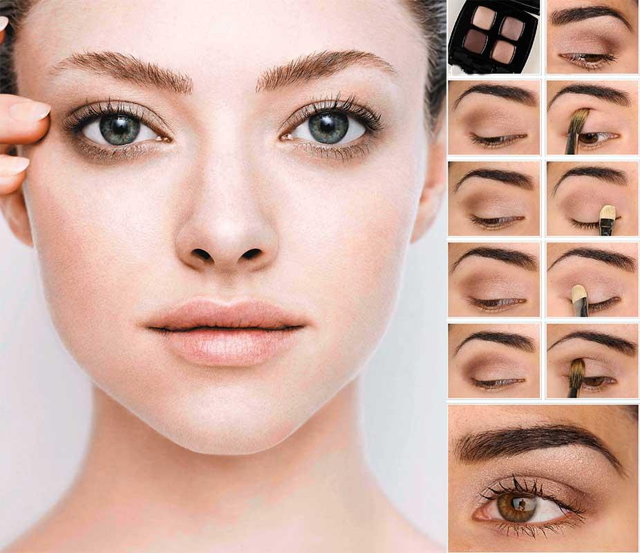 Красивые макияжи естественный