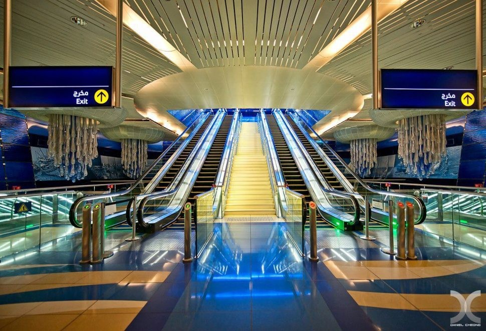 MetroStations06 17 самых волшебных станций метро со всего мира