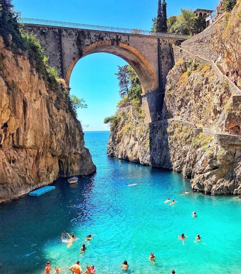 Fiordo di Furore, Italy красивые места, мир, планета, природа, путешествия