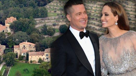 Angelina Jolie & Brad Pitt Get Married
