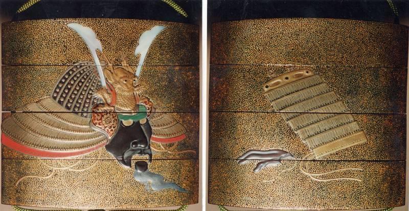 Маски-фантомаски самураев Японии