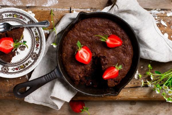 Брауни: рецепт на сковороде