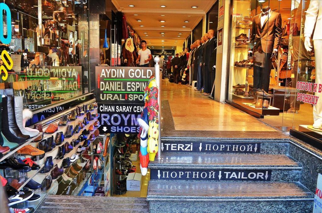Стамбул оптовый рынок одежды