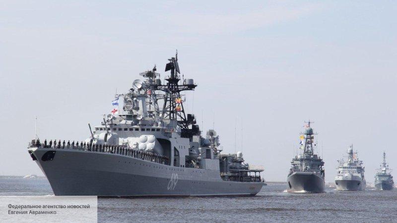 Русские в Африке: БПК «Север…