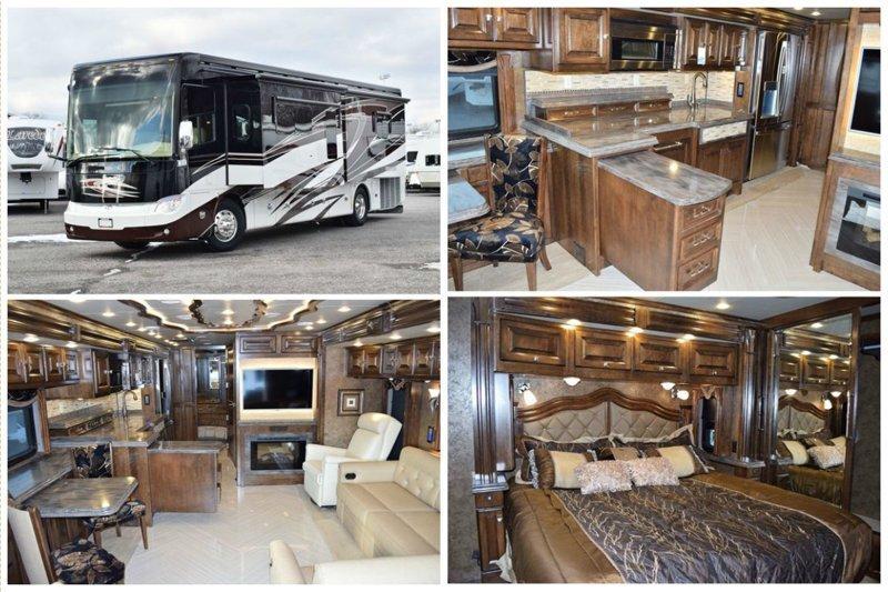 Цена этих домиков начинается от 300.000 долларов и до... (ответ ниже) 2015 Allegro Bus 37AP автомир, дома на колесах, красота, удобство, чудеса