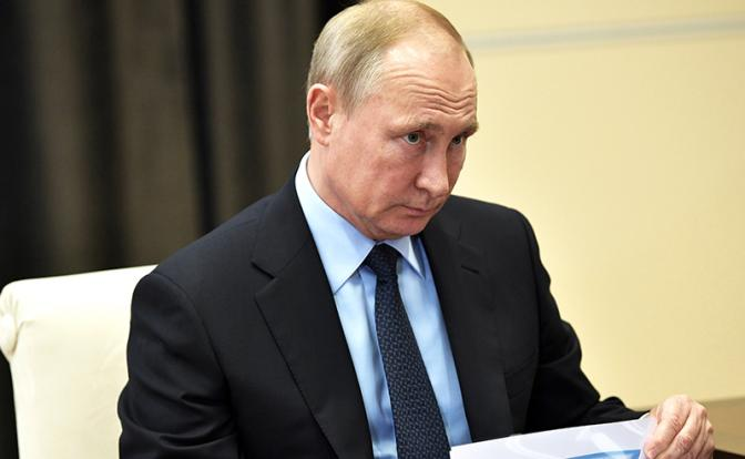 Нищие старики подрывают авторитет Путина