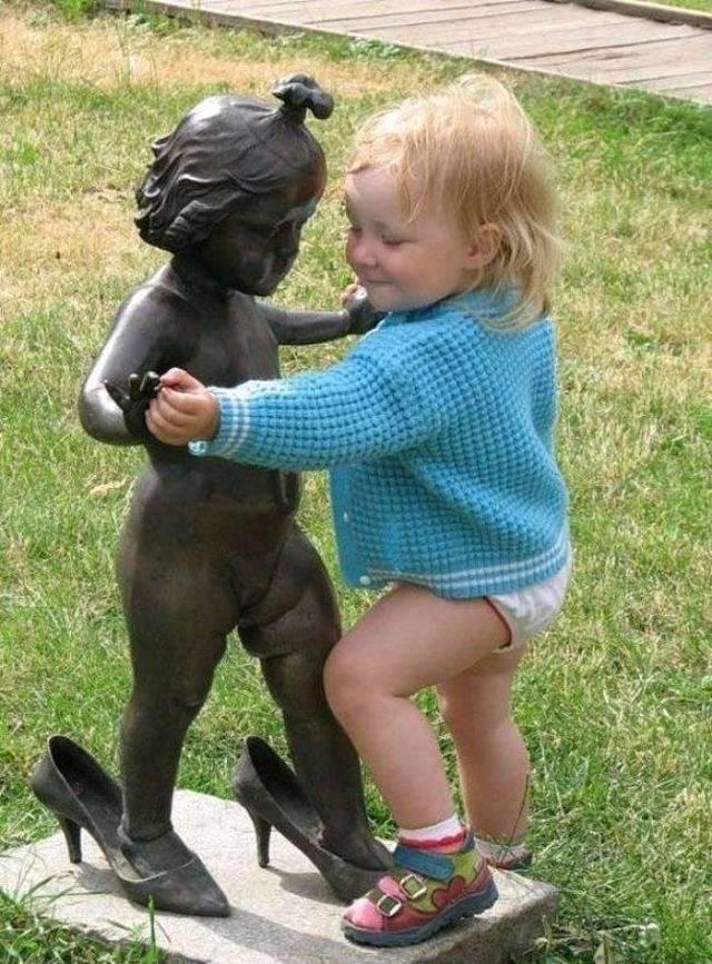 Танцы с пелёнок...)
