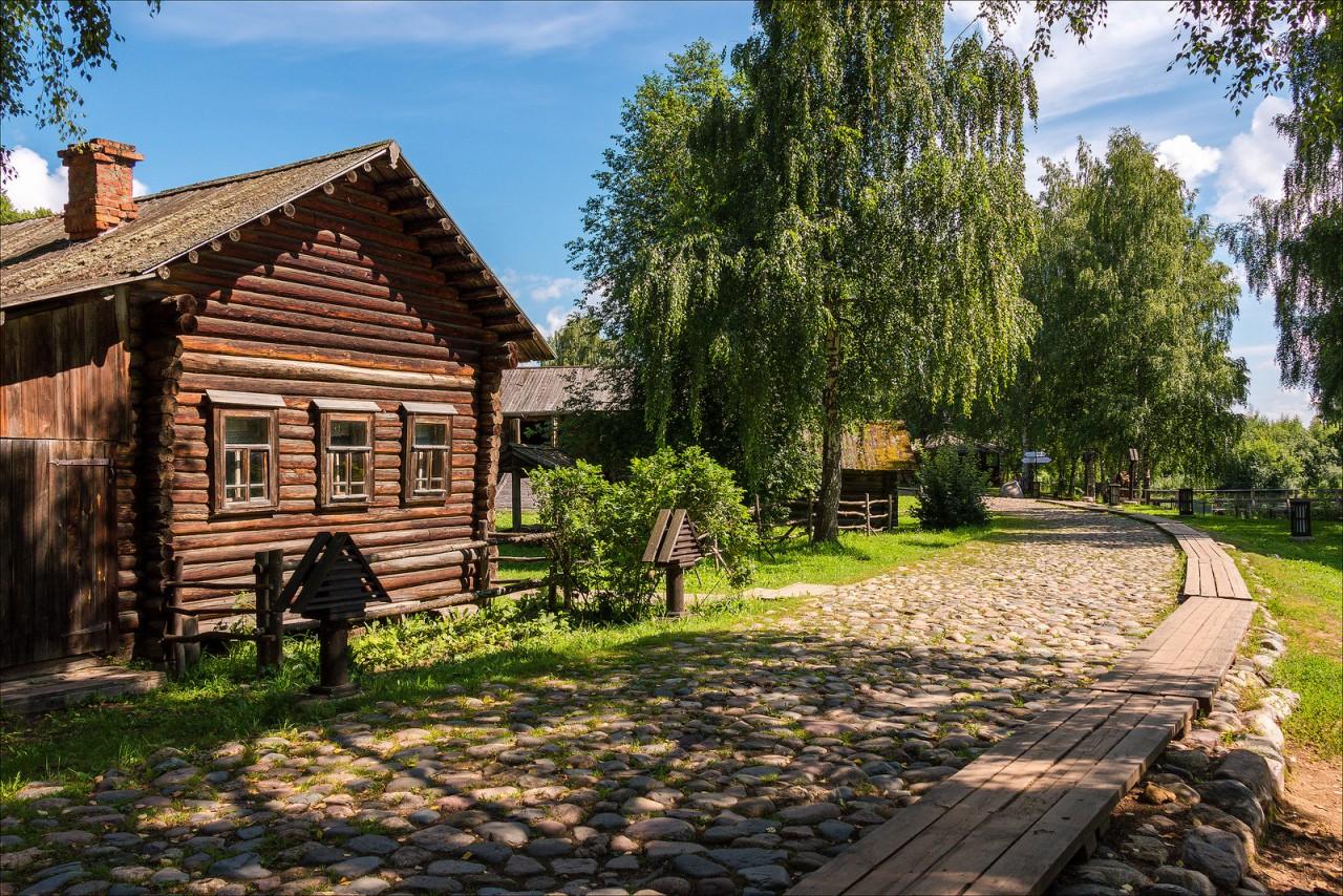 Кострома. Музей деревянного …