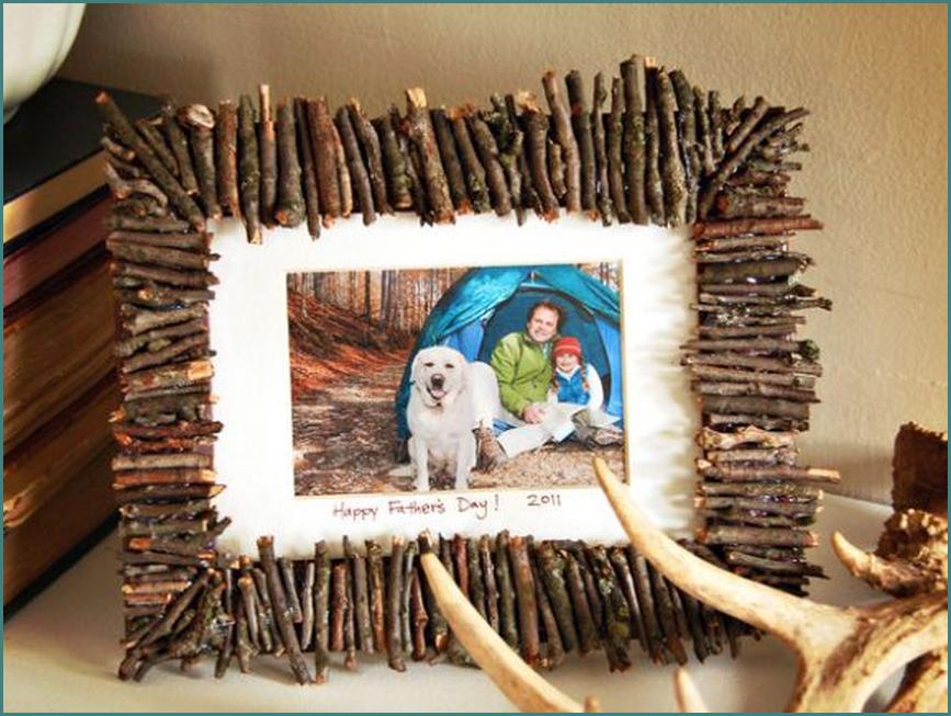 Рамки для фото своими руками из подручных материалов фото