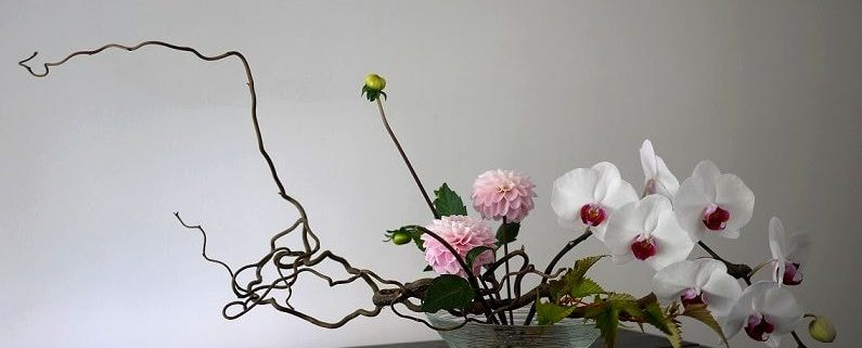 Икебана — роскошный декор своими руками