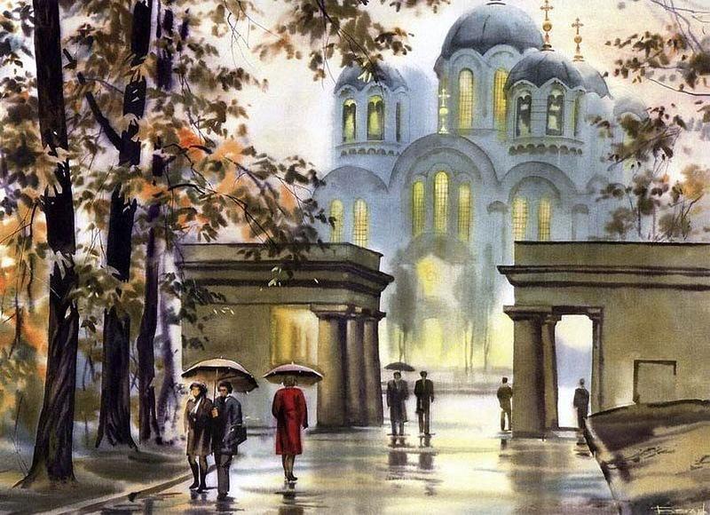 Владимирский собор в киеве, расписанный виктором васнецовым