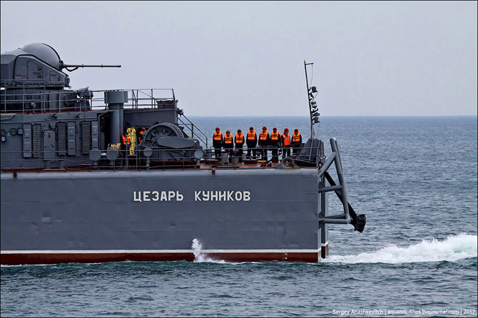 Экскурсия по большому десантному кораблю