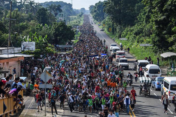 Караван мигрантов