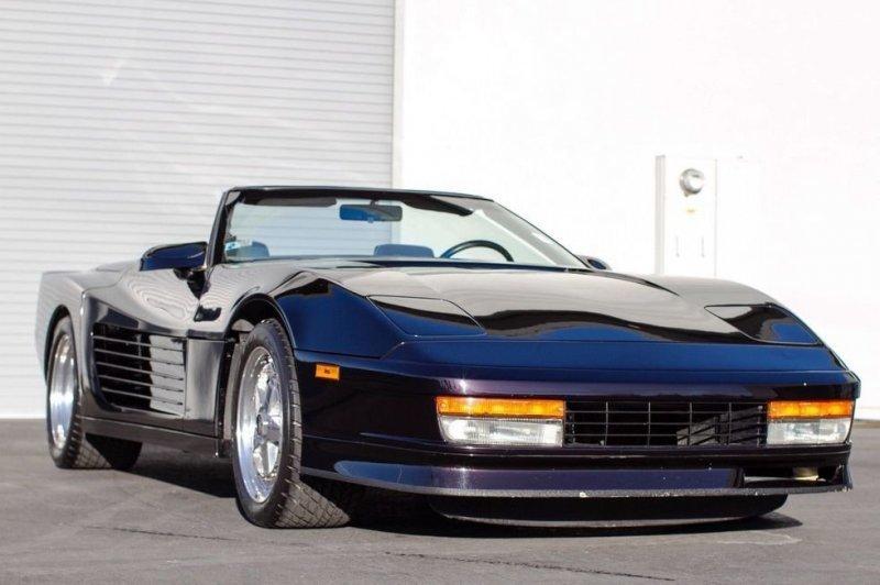 Chevrolet Corvette из 80-х стилизованный под Ferrari Testarossa
