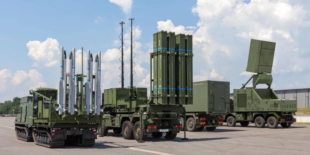 Египет закупает германский зенитный ракетный комплекс SLM c ракетами IRIS-T