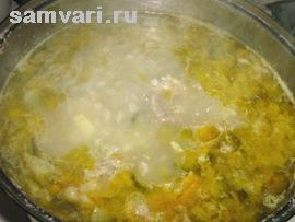 суп рассольник