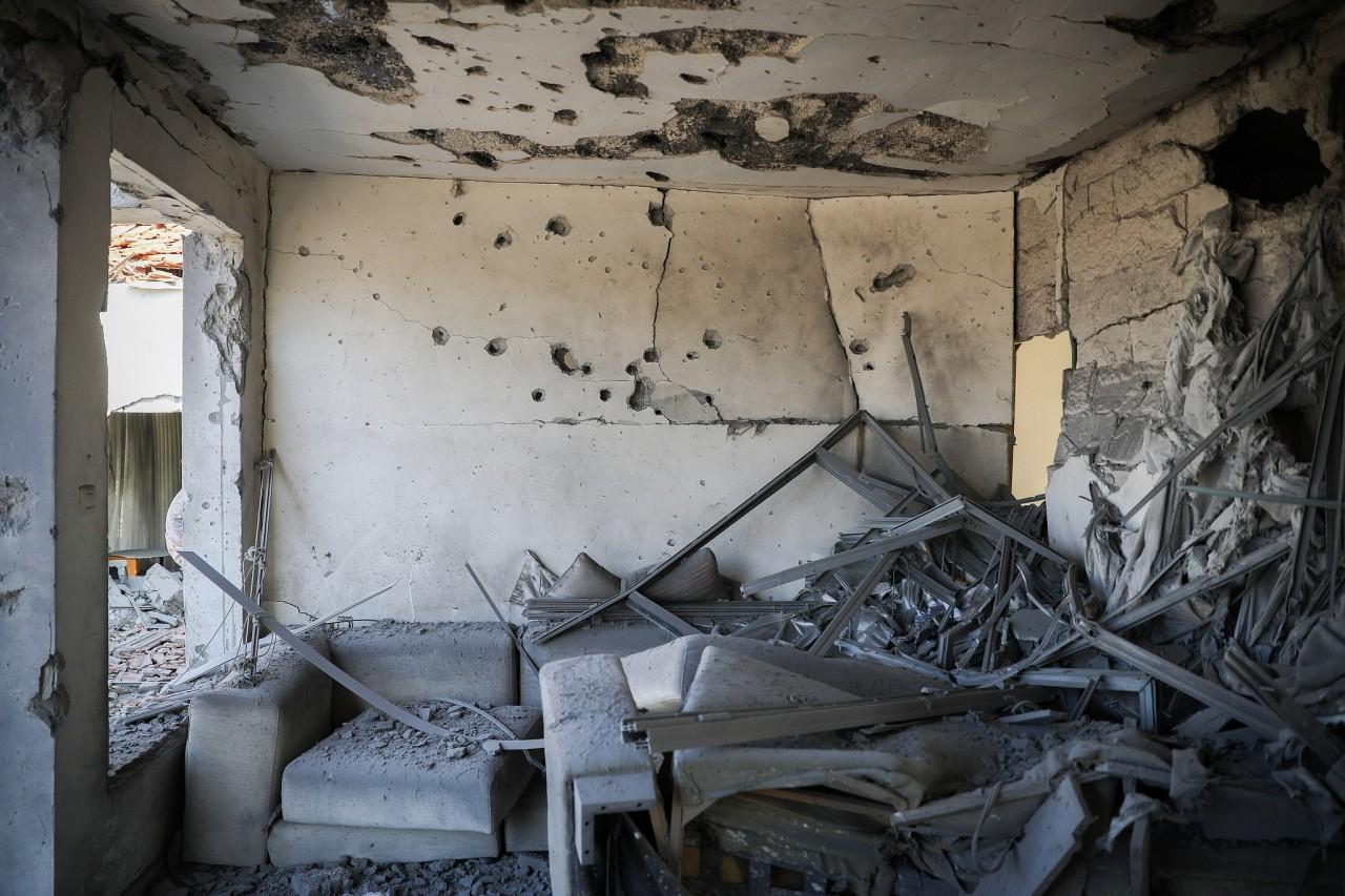 460 ракет выпущенных по Израилю заставили Нетаньяху заявить о перемирии