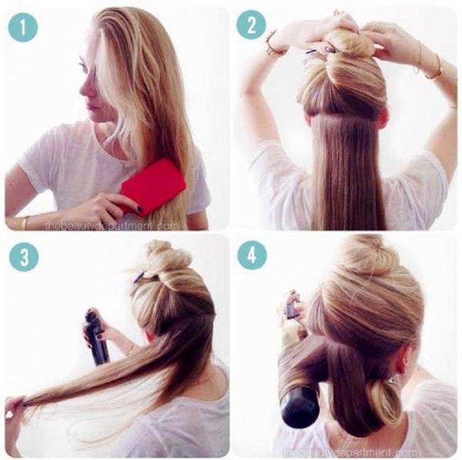 Как сделать волосы красиво уложенными