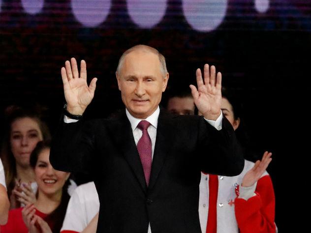 Путин объявил о выдвижении на выборы