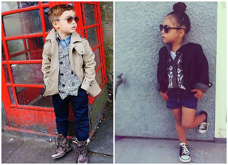 Дети, которые одеты лучше чем ты
