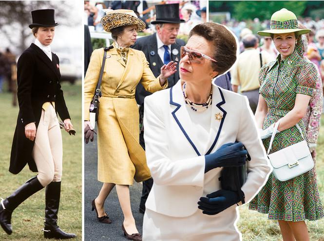 Принцесса Анна – непризнанная икона стиля королевской семьи