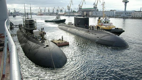 Западные СМИ встревожились узнав о нахождении в Севастополе российской подводной лодки проекта 877