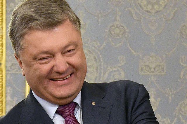 Порошенко свалил восстановление Донбасса на ЕС