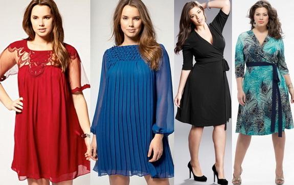 Модели одежды для полненьких