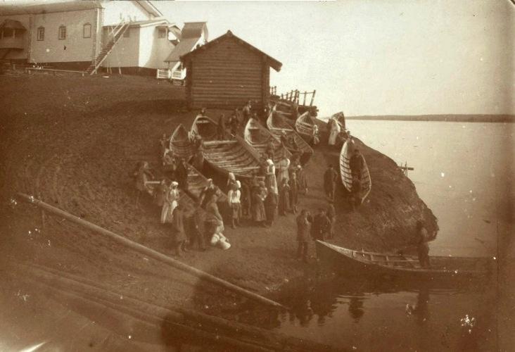 Рыбаки на русском севере