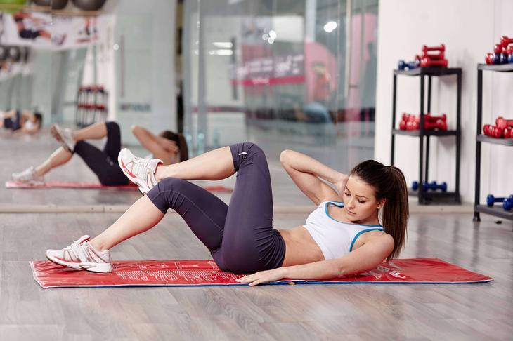 Время от времени меняйте комплекс упражнений