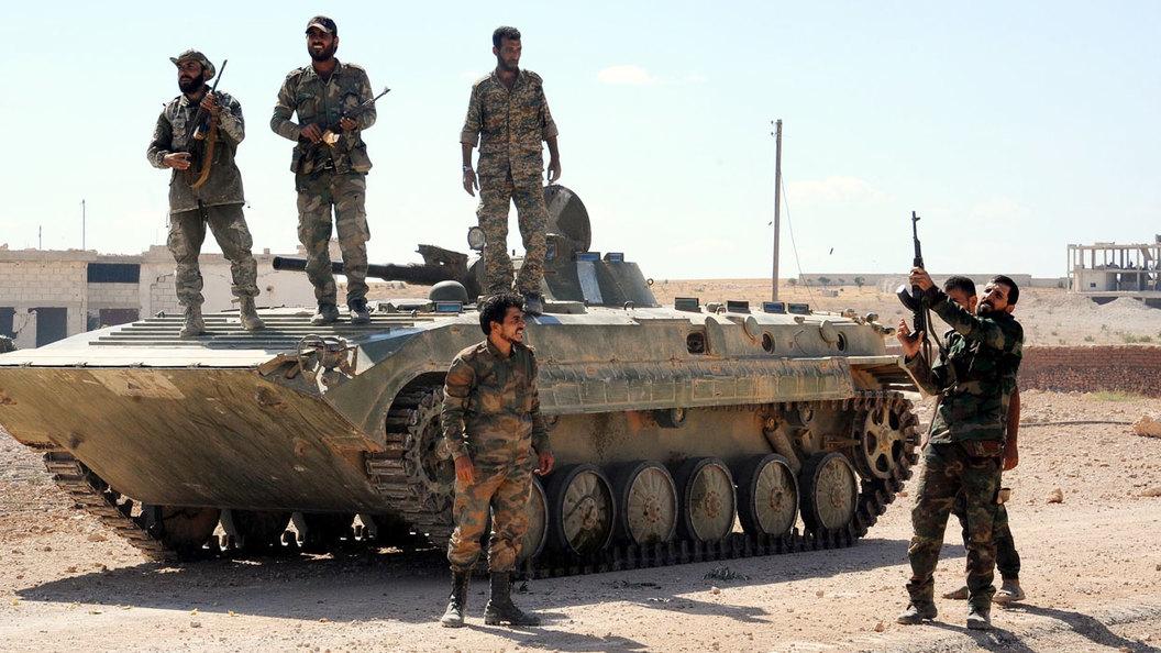 В Сирии потушили Растанский котёл