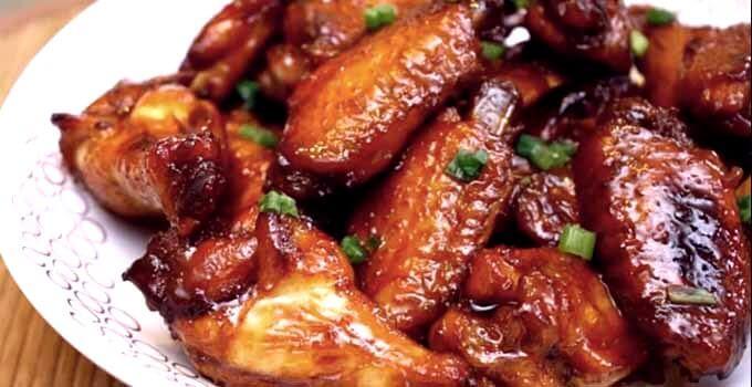 Картинки по запроÑу Ðппетитные куриные крылышки в медовом маринаде