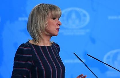 """Захарова назвала идею об исключении России из Совбеза ООН """"полным безумием"""""""