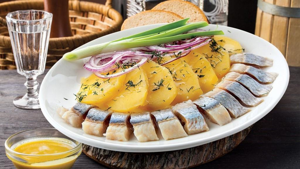 Картошечка с селедочкой