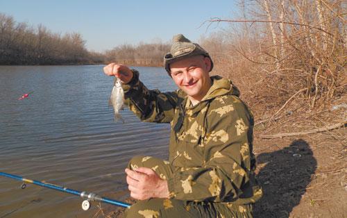 Апрельская рыбалка- мечты сбываются