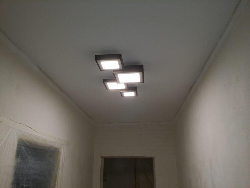 Потолочный светильник своими руками