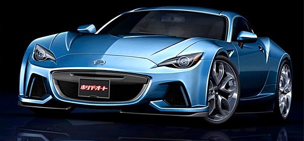 Mazda выпустит новое купе с роторным мотором