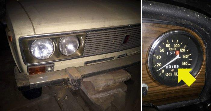 Экспортный автомобиль Lada ВАЗ-2106 нашли в гараже, заваренном 25 лет назад
