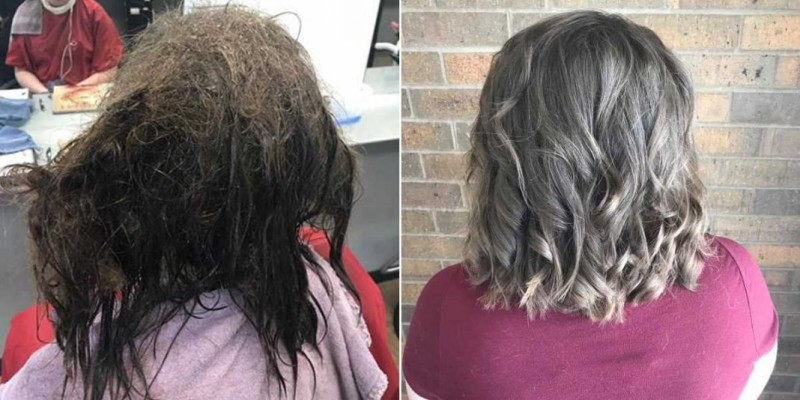 Брить нельзя, распутать: парикмахеры потратили 13 часов, чтобы вывести девушку из депрессии