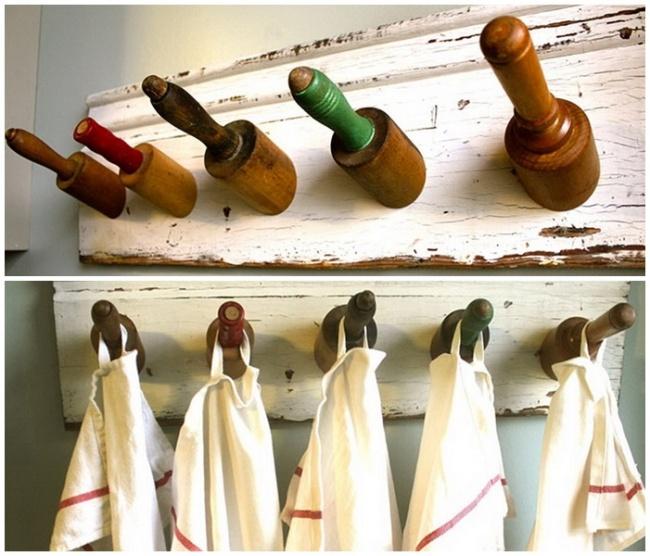 25 способов вдохнуть новую жизнь в старую кухонную утварь!