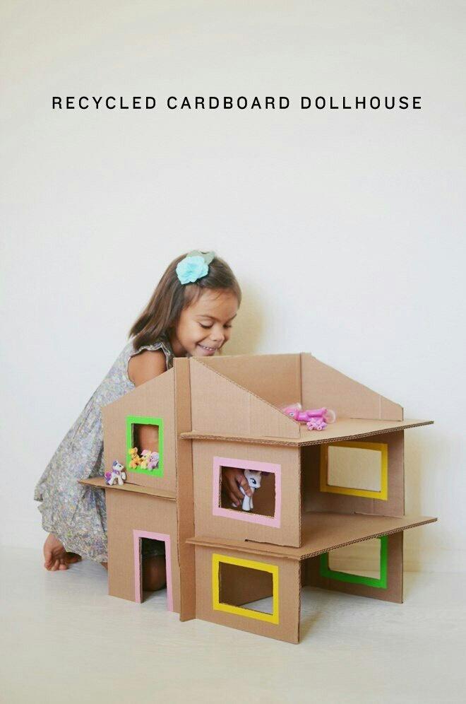 Дом для кукол своими руками