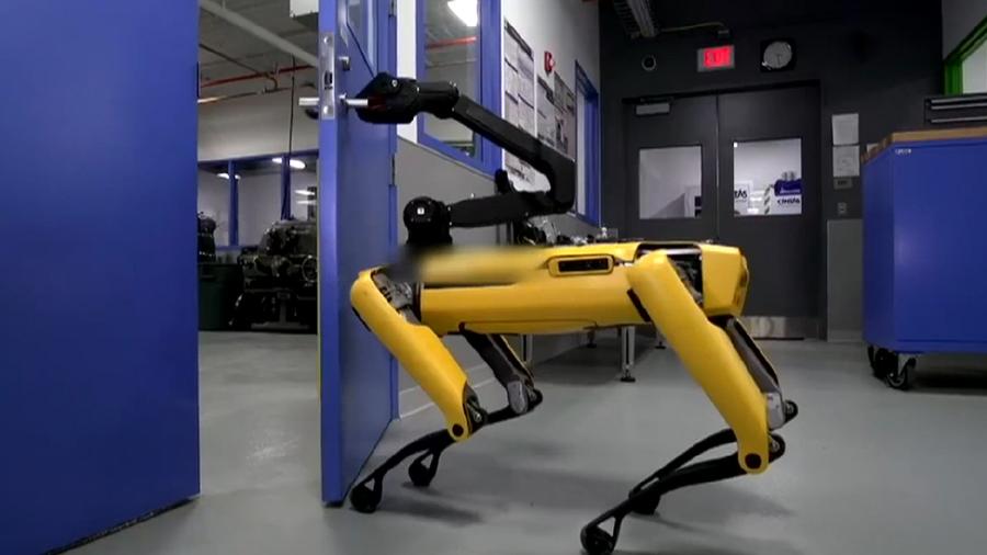 Ну и гаджеты: робот-собака, робот-компаньон и мини-катер