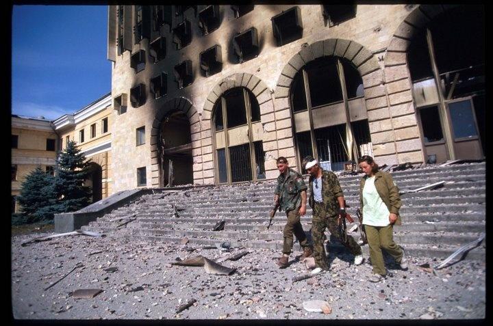 Сухумский Дом Правительства, 27 сентября 1993: